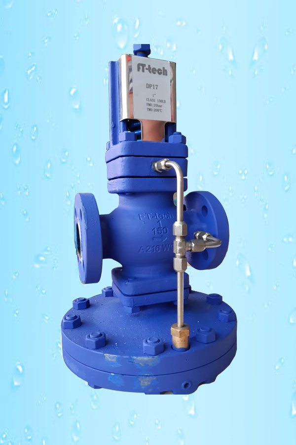 Pilot Operated PRV Flanged F