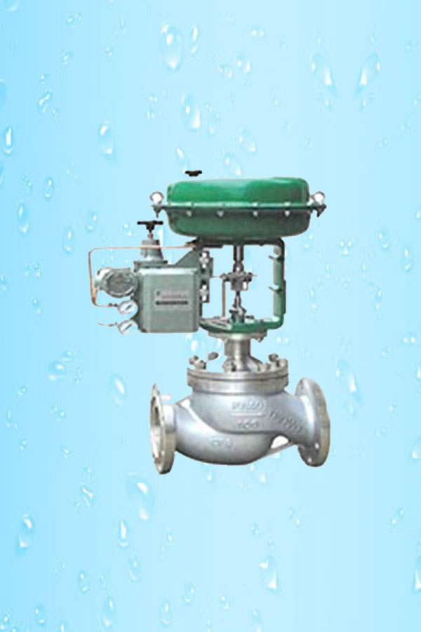 Pneumatic Actuated Control Valve F